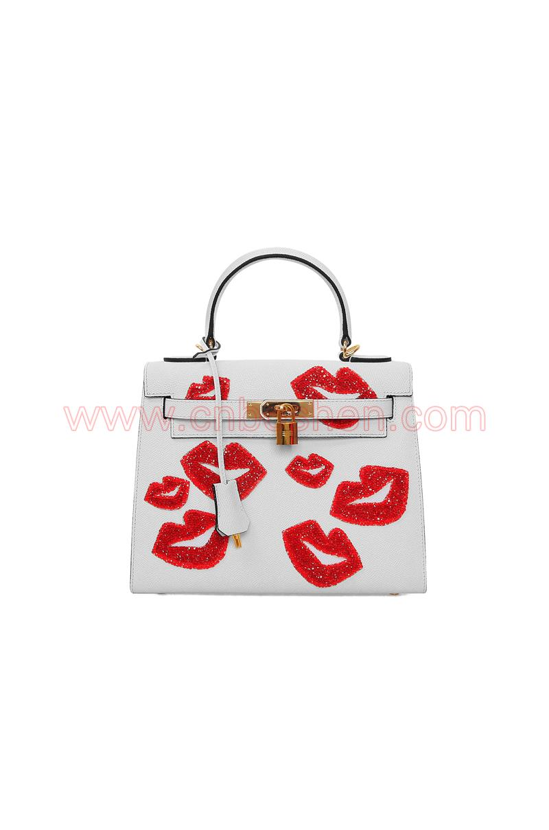 BSWH001-03 leather bag manufacture shell handbag