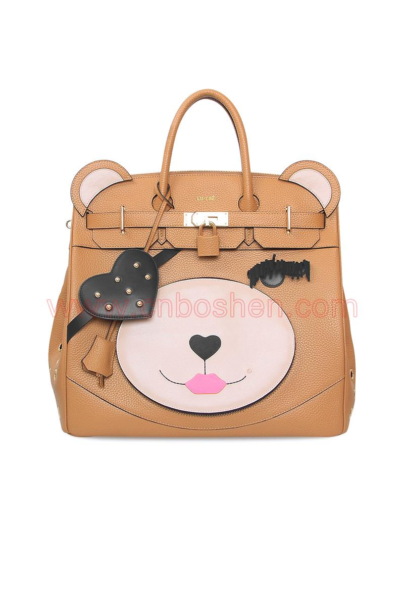 BSWH002-18 leather bag manufacture lady shell bags