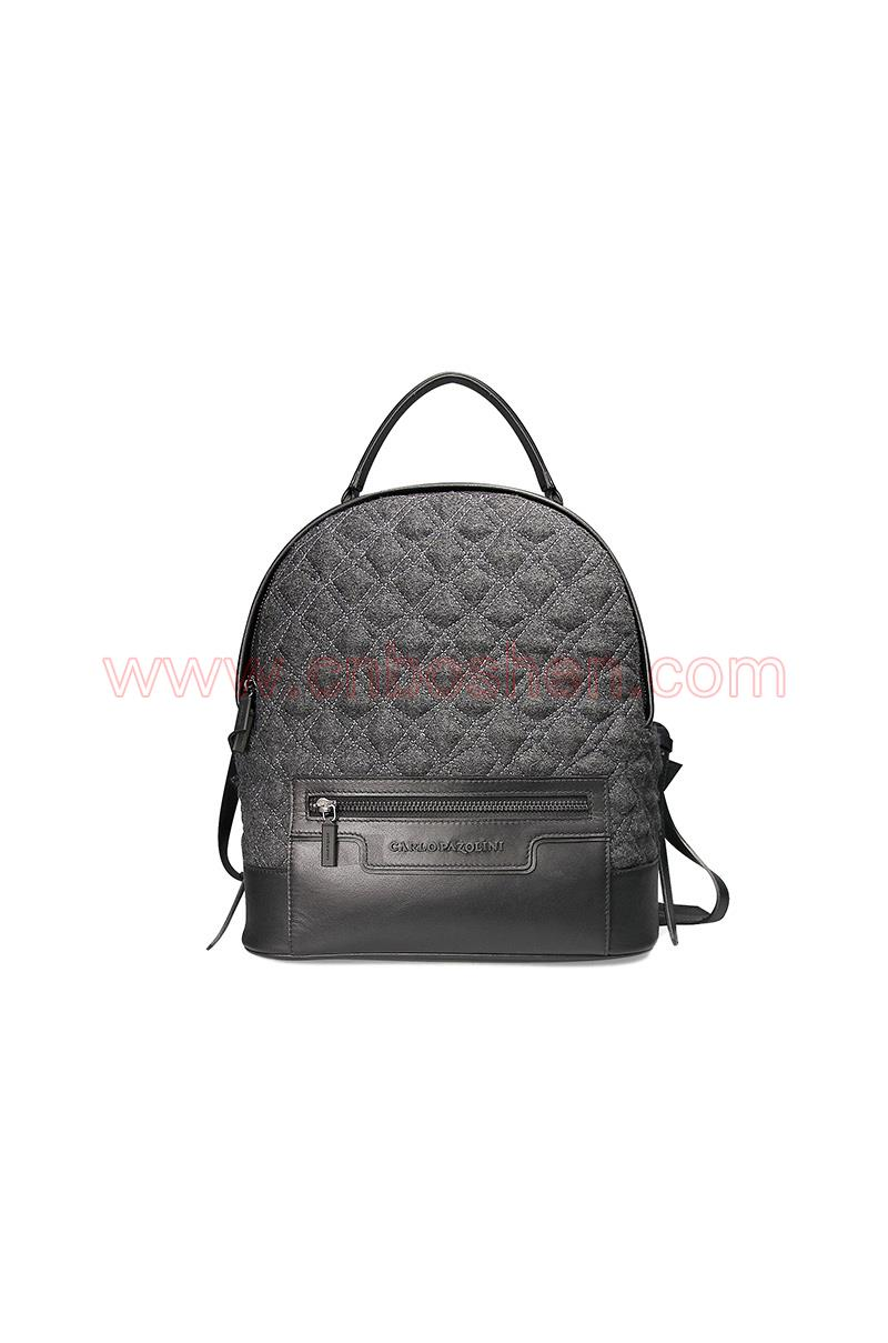 BSWB004-02 leather bag manufacture lady backpack bags