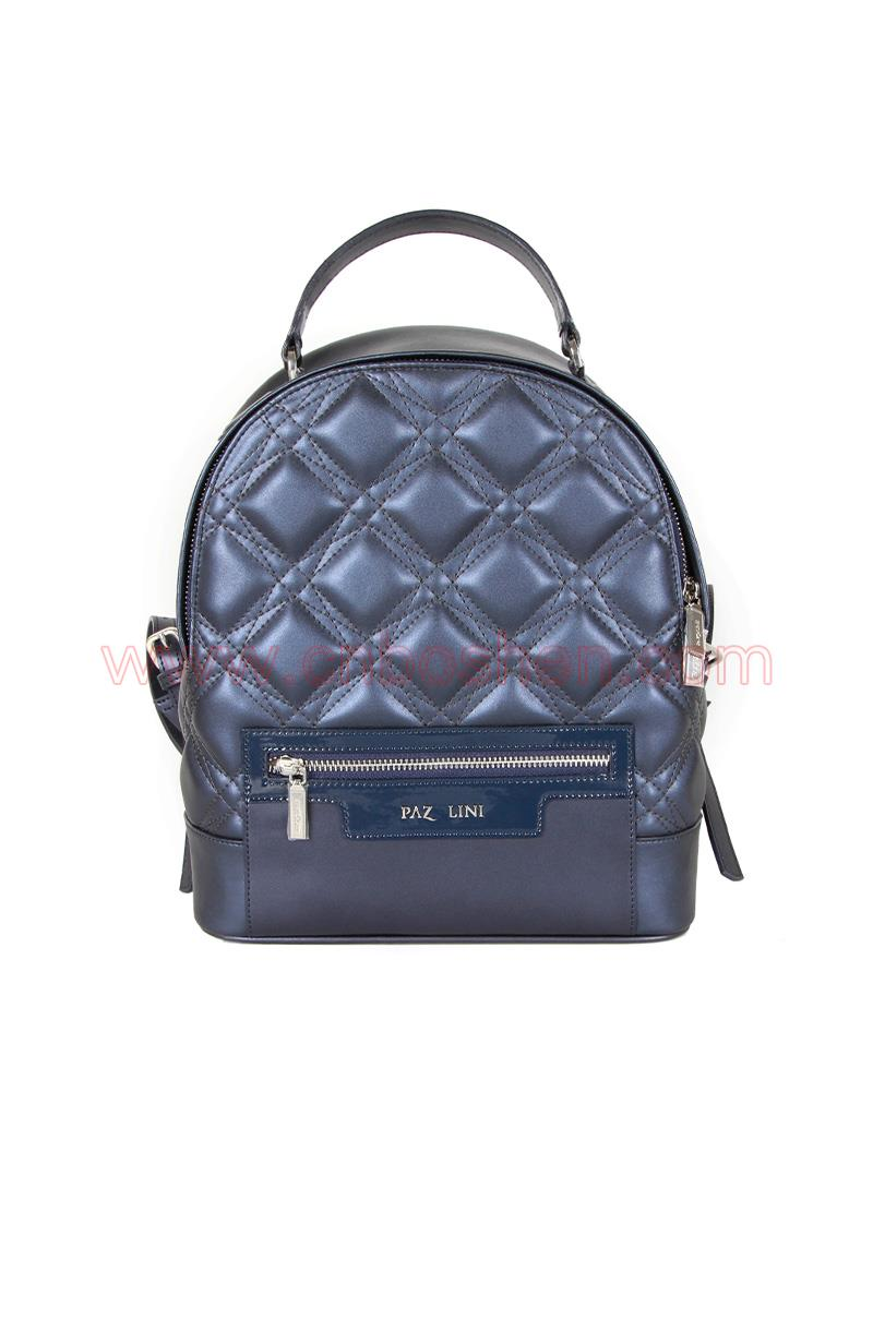 BS-WB001-01 leather bag manufacture lady backpack bags